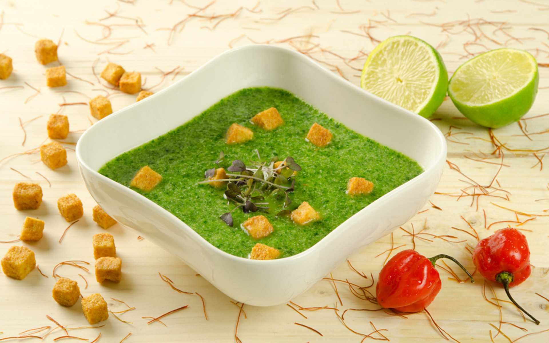 Kalte Avocado Suppe