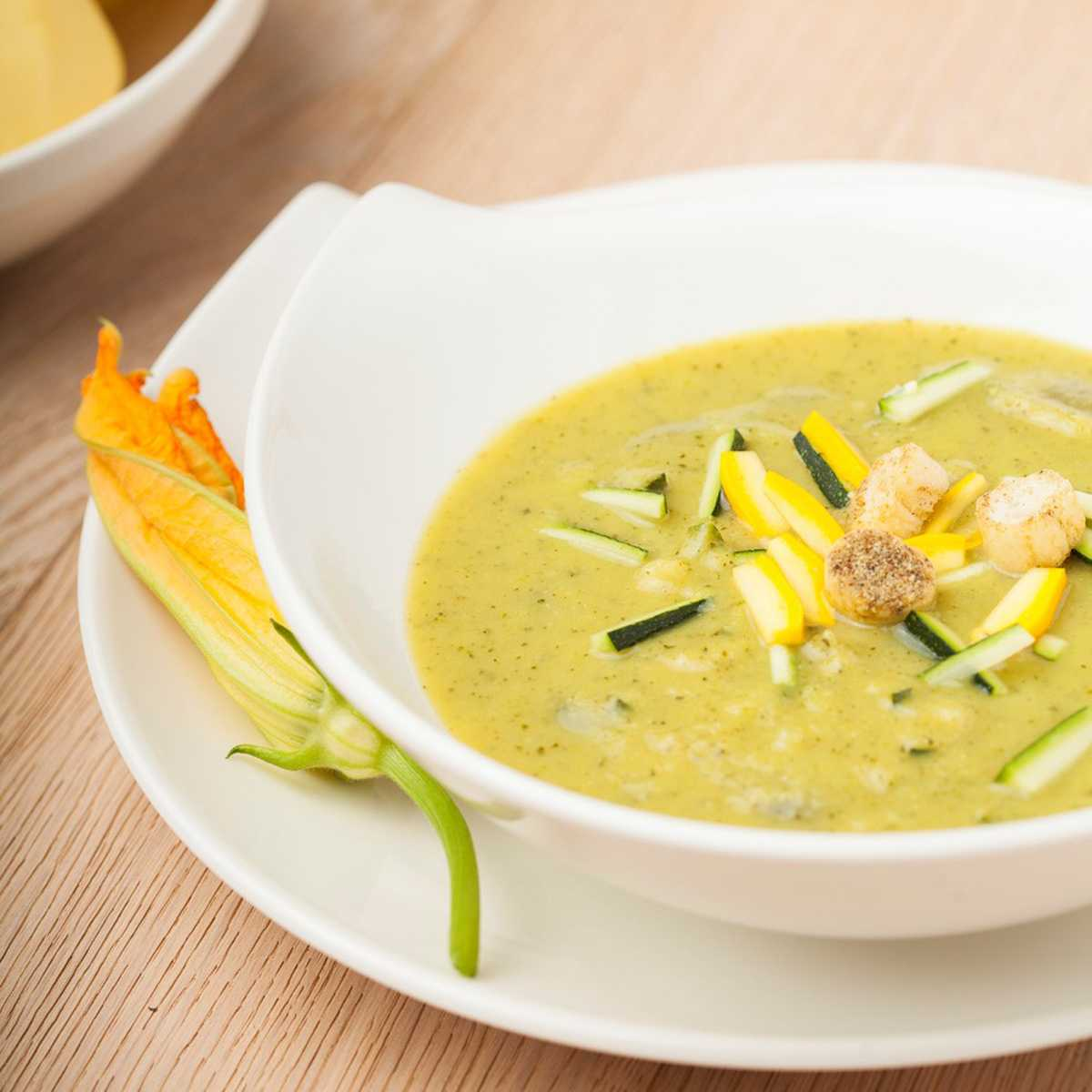 Zucchini Kartoffel Suppe