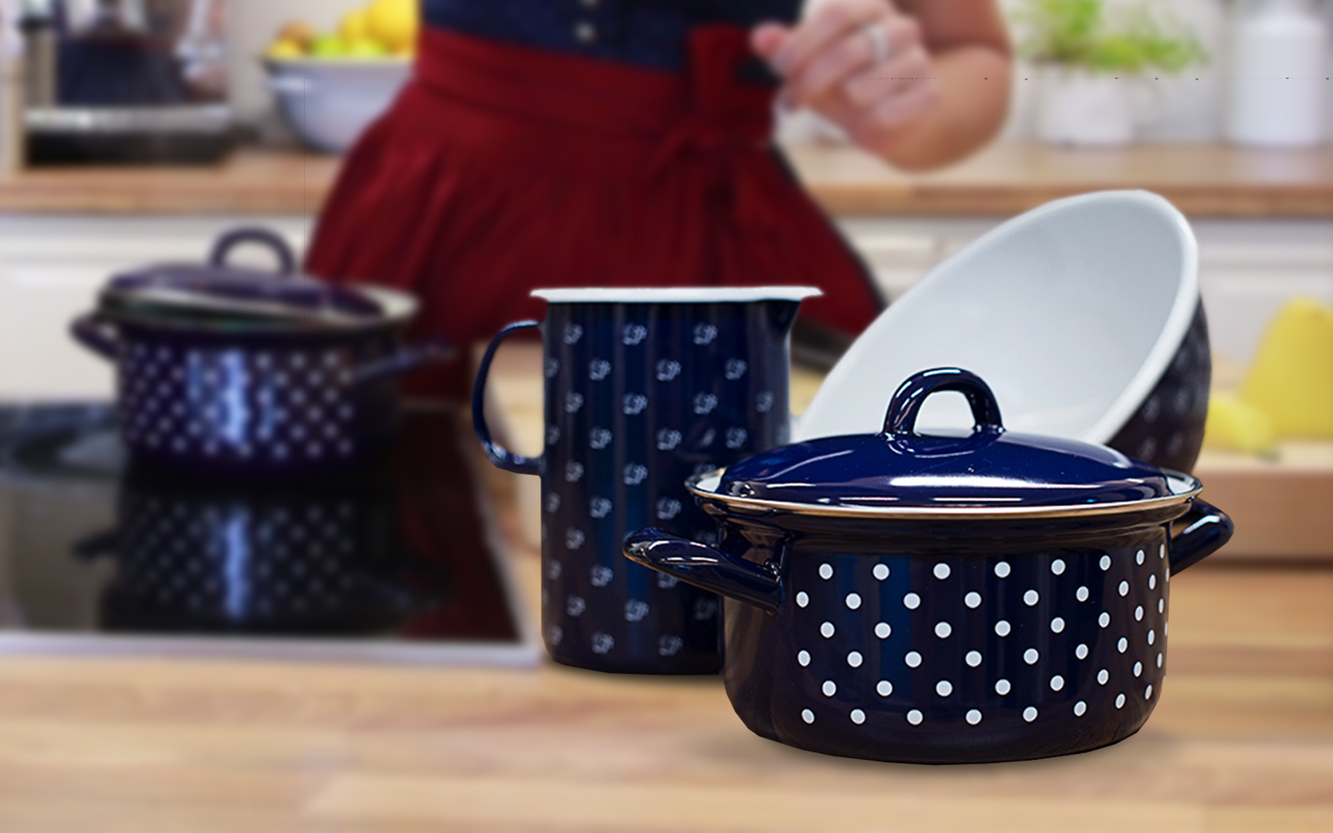 Win some hand-crafted enamel kitchenware from RIESS!
