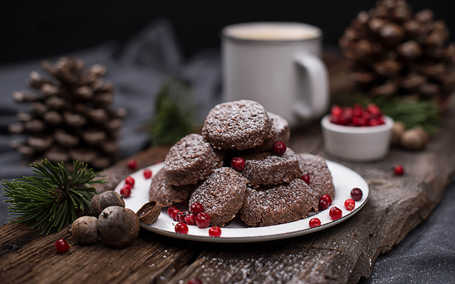 Schoko Semmelbrösel Cookies