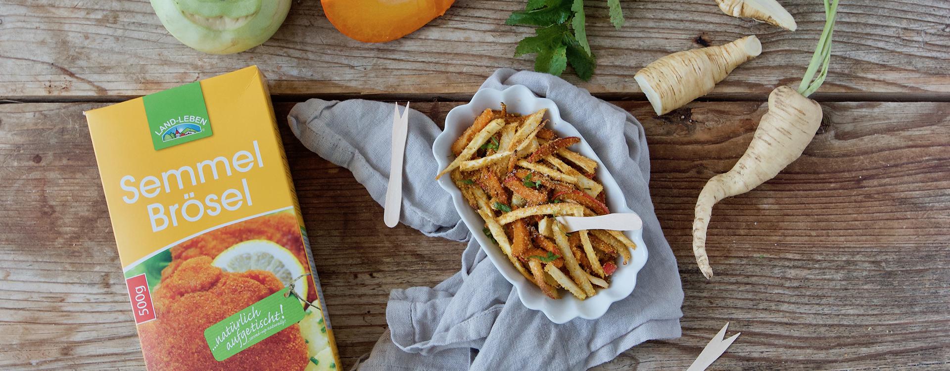 """""""Gesunde Pommes"""": Kürbis-, Kohlrabi- & Pastinakenpommes"""