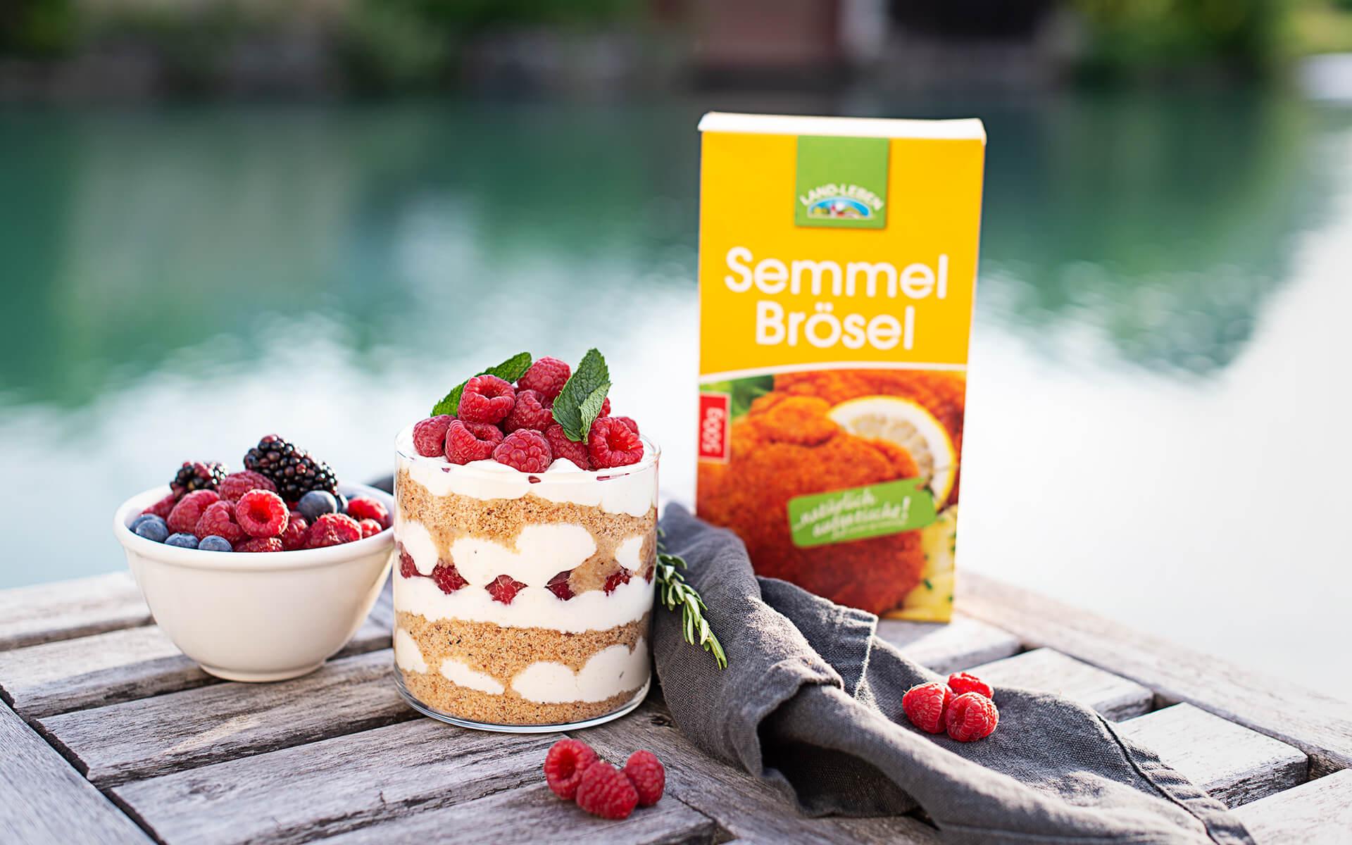 Topfen Himbeer Trifle