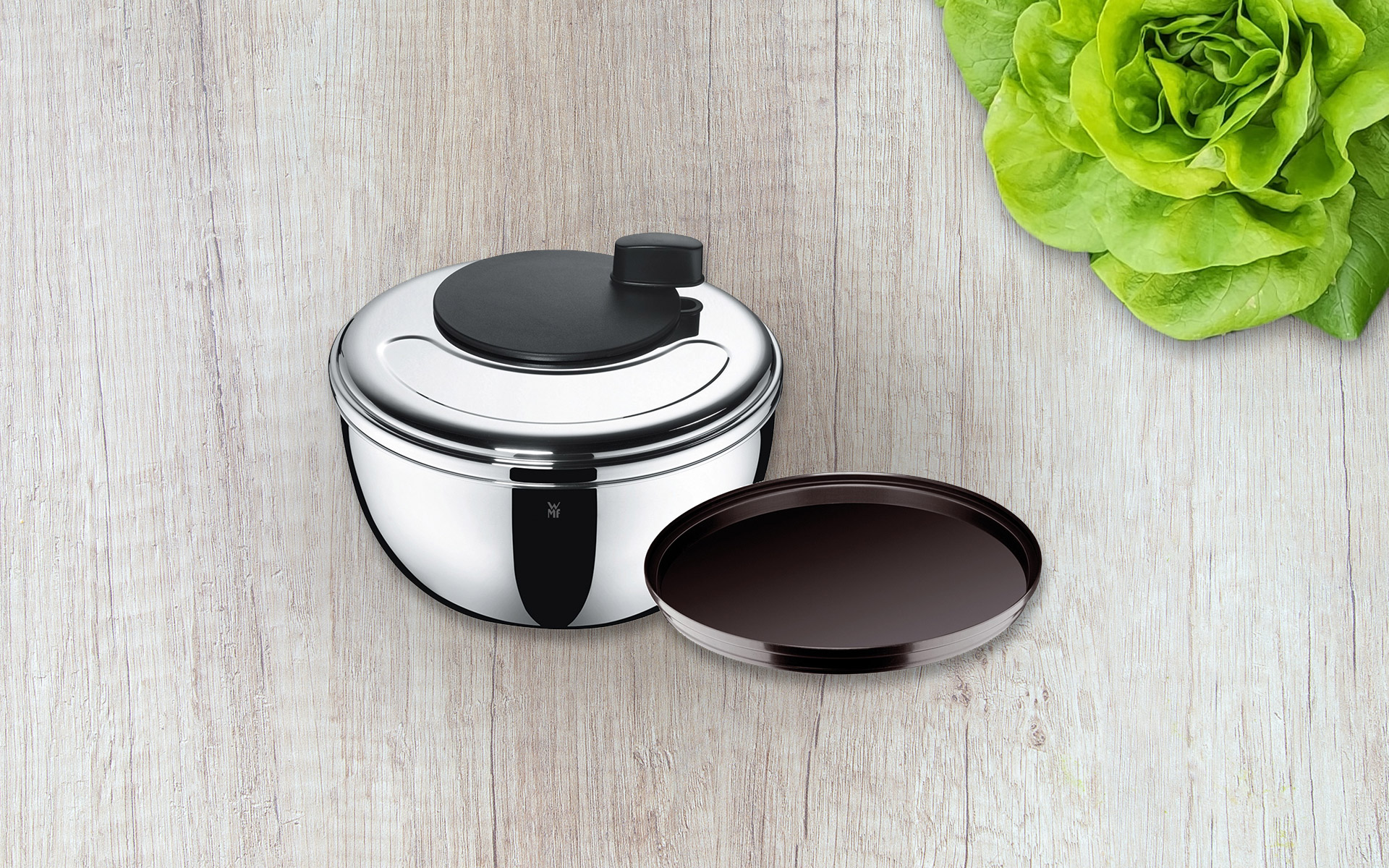 Win one of 5 WMF salad spinners GOURMET